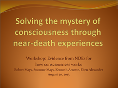 Solving the Mystery of Consciousness