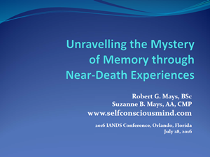 Unravelling the Mystery of Memory
